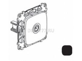 Legrand Valena Allure Розетка ТВ оконечная 10дБ 0-862 МГц С лицевой панелью Антрацит