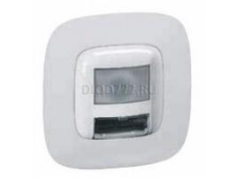 Legrand Valena Allure Указатель световой с датчиком движения 180° С лицевой панелью Винтовые зажимы Алюминий