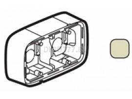 Legrand Valena Allure Коробка для накладного монтажа 2-постовая Слоновая кость