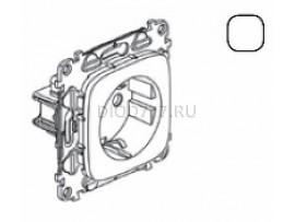 Legrand Valena Allure Силовая розетка 2К+З 16А 250В с лицевой панелью Безвинтовые зажимы Белая