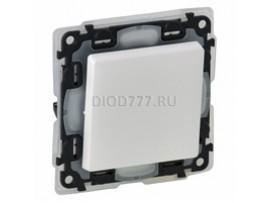Legrand Valena Life IP44 Выключатель 10АХ 250В с лицевой панелью Безвинтовые зажимы Белый