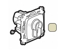 Legrand Valena Allure Выключатель с ключом, 2 положения 10А 230В С лицевой панелью Слоновая кость