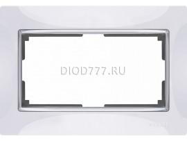 WL03-Frame-01-DBL-white / Рамка для двойной розетки (белый)