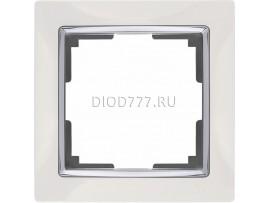 WL03-Frame-01-white / Рамка на 1 пост (белый)