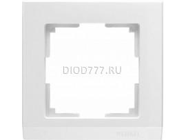 WL04-Frame-01-white / Рамка на 1 пост (белый)