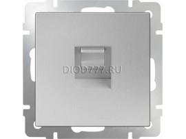 Розетка Ethernet RJ-45 (серебряный)